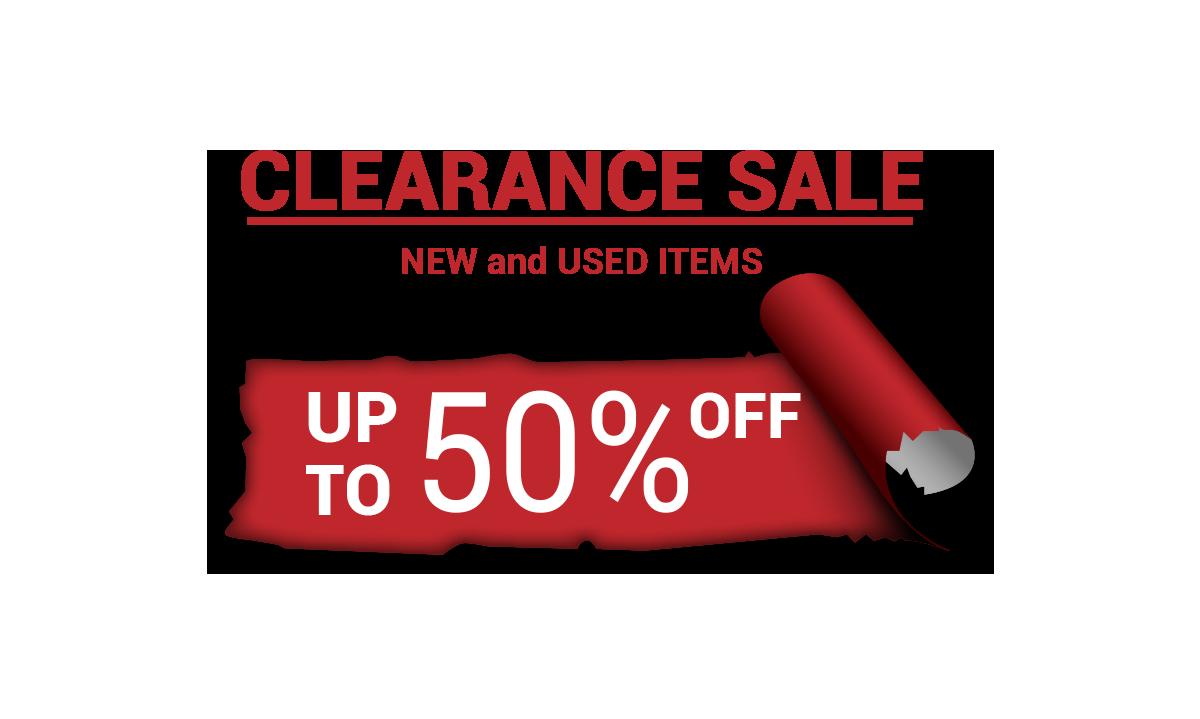 Clearance Sale 2017