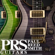 PRS Guitars and Basses