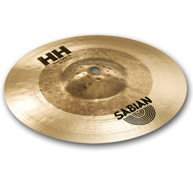 "Sabian 10"" HH DUO SPLASH"