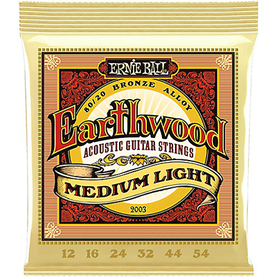 Ernie Ball 2003 Earthwood Medium M-Light