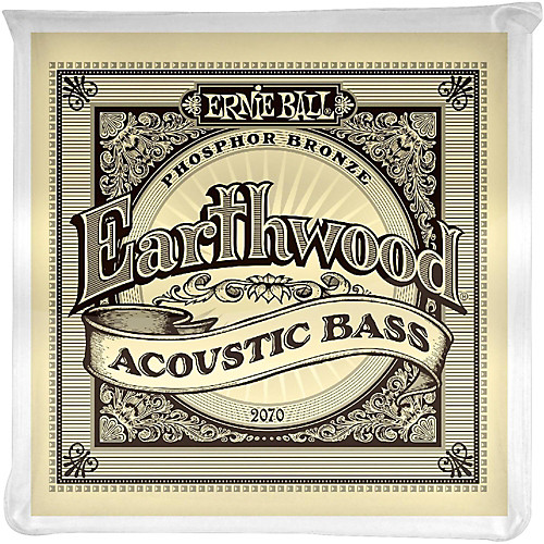 Ernie Ball 2070 Bass Earthwood Acoustic Bass String Set