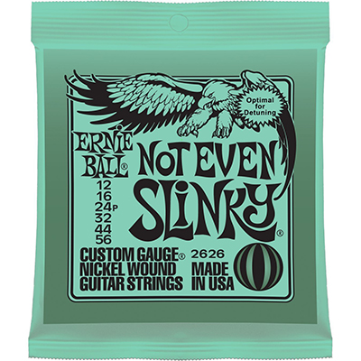 Ernie Ball 2626 Not Even Slinkys Electric Guitar Strings