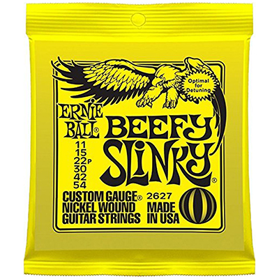 Ernie Ball 2627 Beefy Slinky Electric Guitar Strings