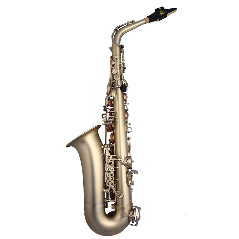 Trevor James Horn 88 3738KF Alto Saxophone in frosted gold finish