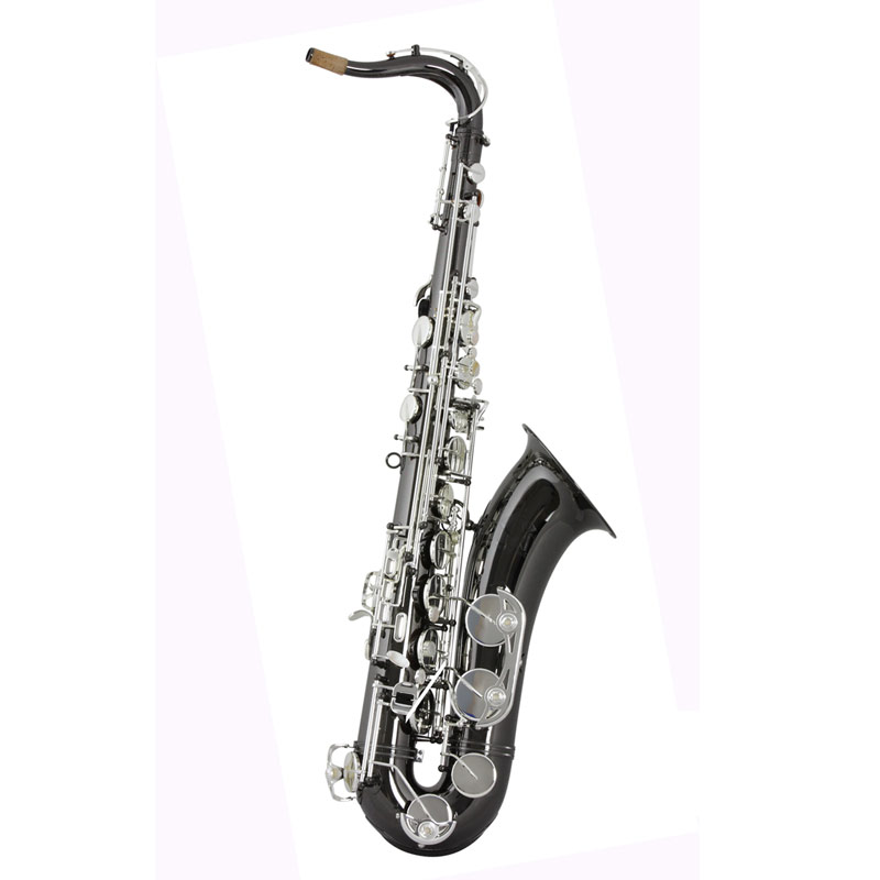 Trevor James 3822BS Classic Tenor Black Nickel Plate Silver Plated Keys