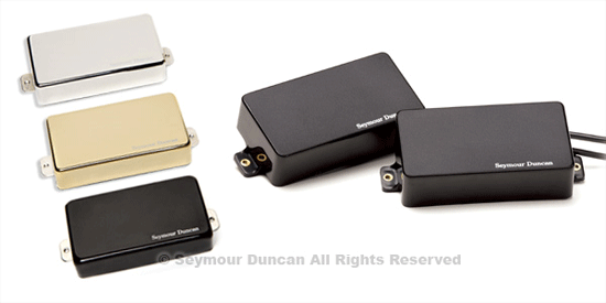 Seymour Duncan AHB-1n Blackouts, Neck,  Black Cover
