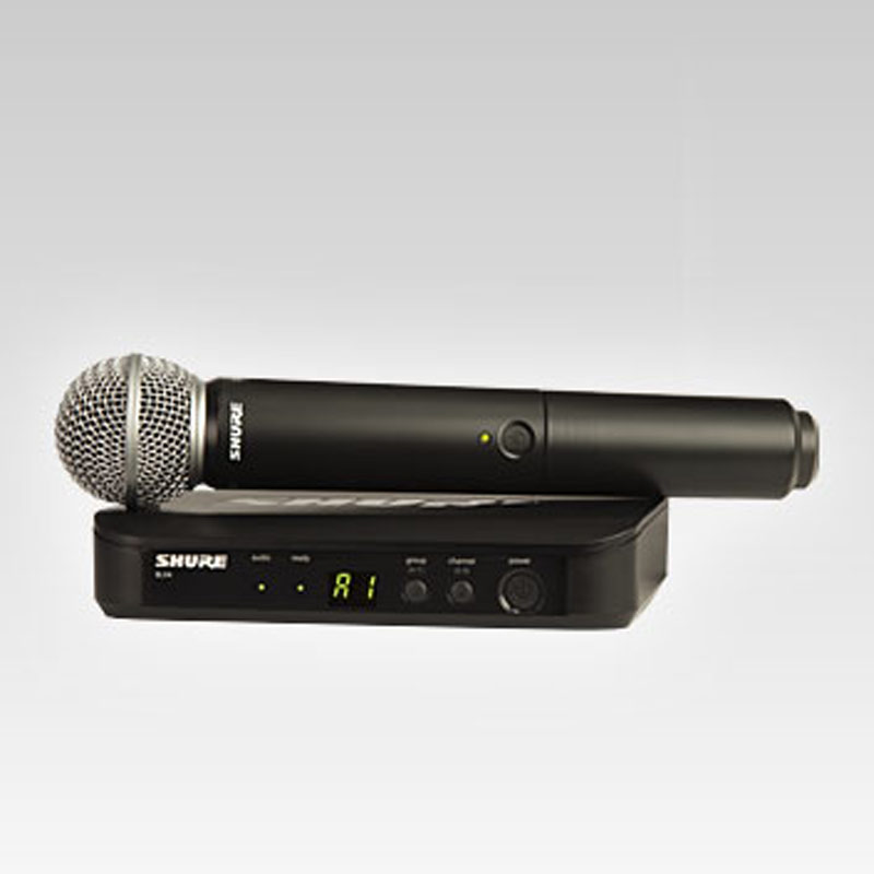 Shure BLX24/SM58 Handheld Wireless System