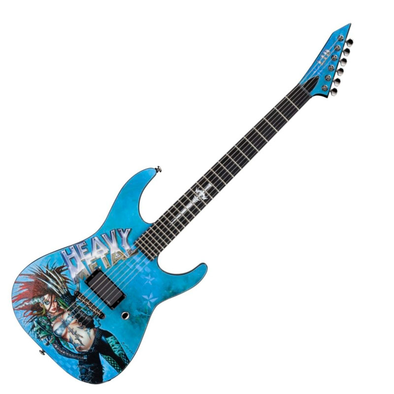 ESP LTD LHEAVYMETAL1 Heavy Metal Graphic 1 Electric Guitar
