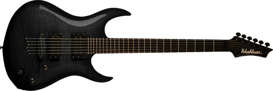 Washburn XMPRO2 Flame Blackburst