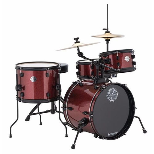 Ludwig LC178X025 The Pocket Kit - Wine Red Sparkle