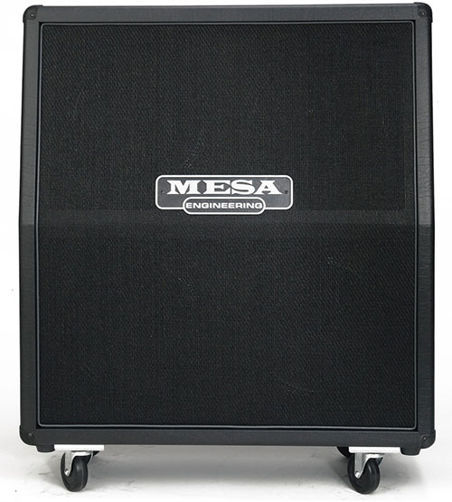 Mesa/Boogie 4x12 Rectifier Standard Cab Black Grill - Slant