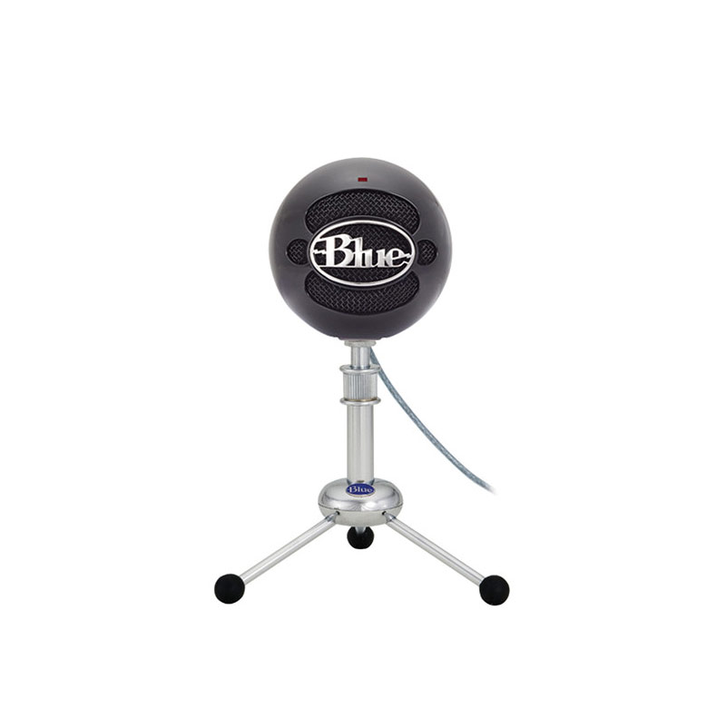 Blue Snowball USB Condenser Microphone  (Gloss Black)