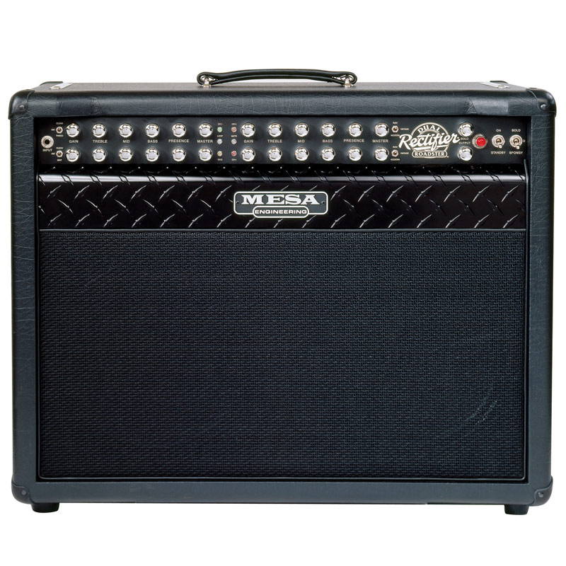 "Mesa/Boogie Dual Rectifier Roadster 100-Watt 2x12"" - Black w/Black Grille (Closed Back)"