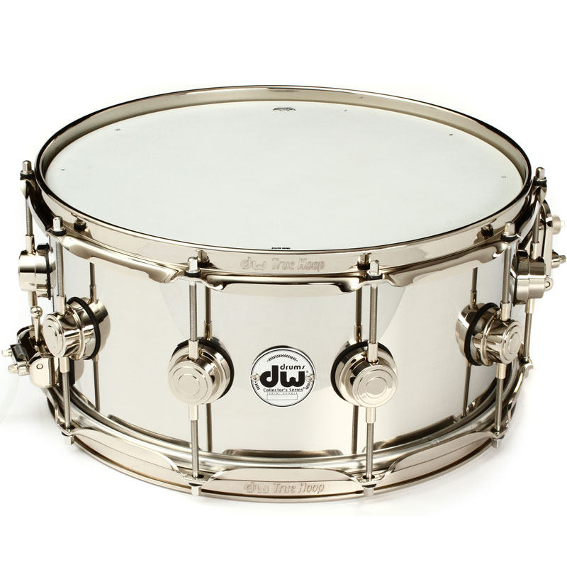 DW Collector Series Stainless Steel 6.5x14 Snare