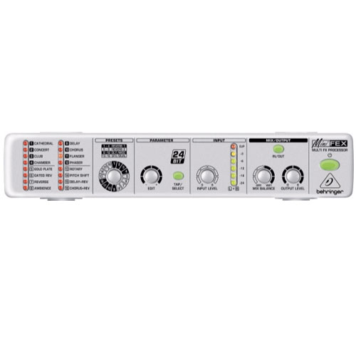 Behringer Minifex FEX800 Ultracompact Stereo Multi-Effects Processor
