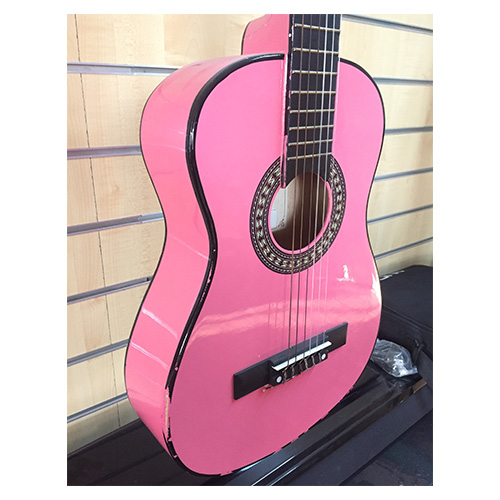 Kapok LC14 1/2 Size Classical Guitar PINK (Preloved)