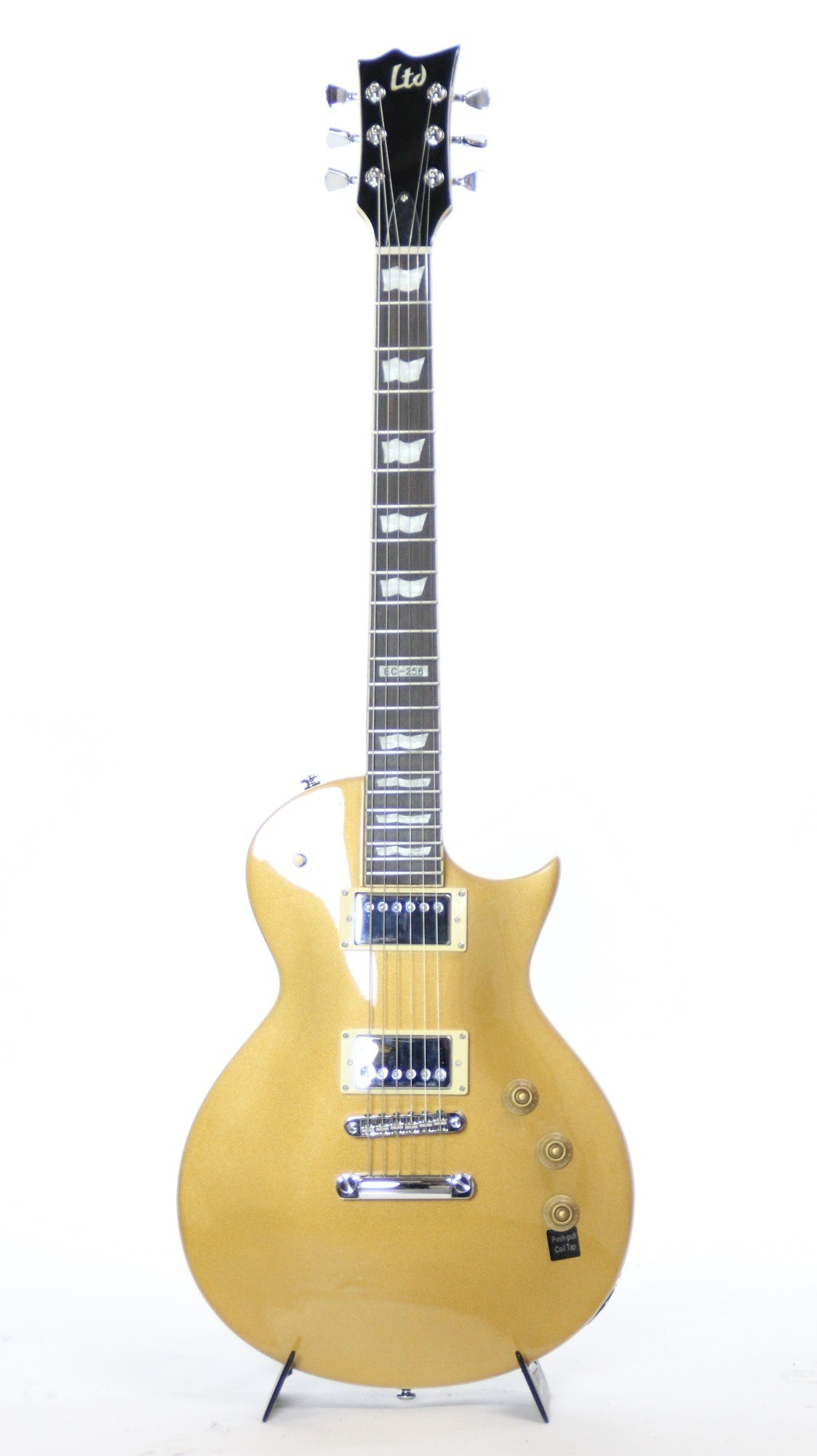 ESP LTD EC-256 Metallic Gold Electric Guitar (LEC256MGO)