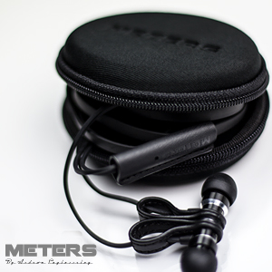 M-Magnetic-Ears Black In-Ear Headphone