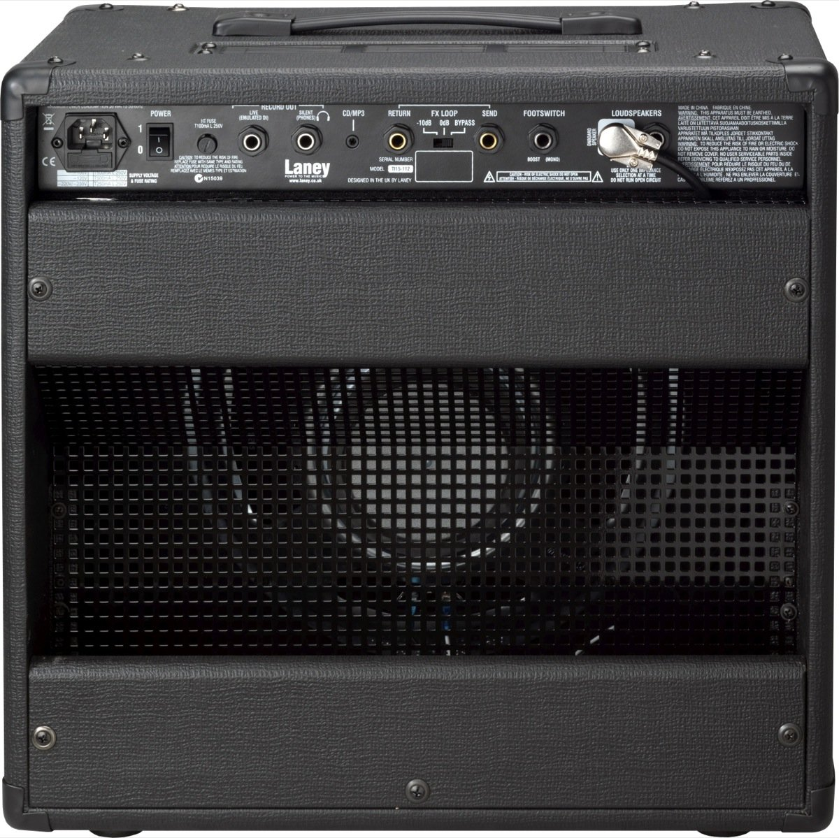 Laney Tony Iommi TI15-112 Signature Guitar Combo Amplifier