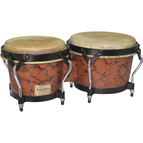"Tycoon Percussion 7"" & 8.5"" Supremo Series Bongo Set"