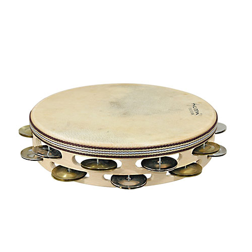Tycoon Percussion Single Row Headed Tambourine