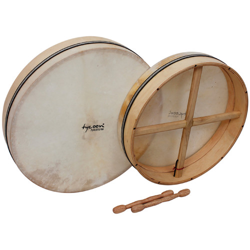 "Tycoon Percussion 16"" Tunable Frame Drum TBTFD16"
