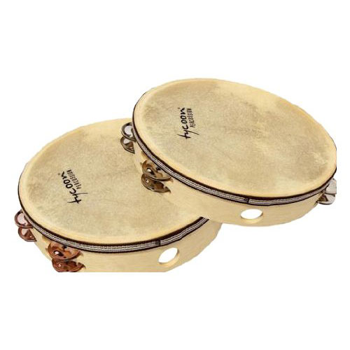 Tycoon Percussion Double Row Headed Tambourine (TBW HDBS)