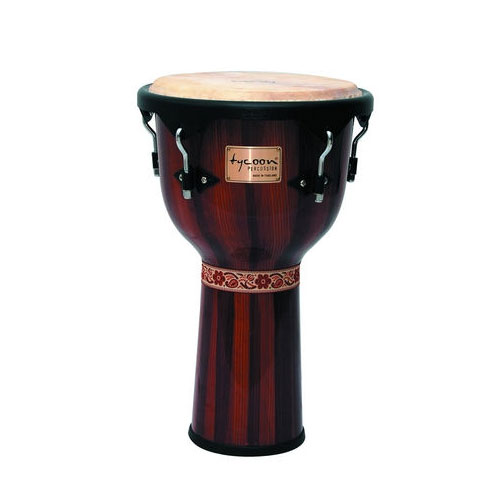 Tycoon TJ72BHPBR Artist Series Djembe Drum Mechanically Tuned