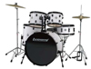 Ludwig Accent Drive 5-Peice Complete White