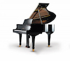 Young Chang Y-150 Ebony Polish Baby Grand Piano