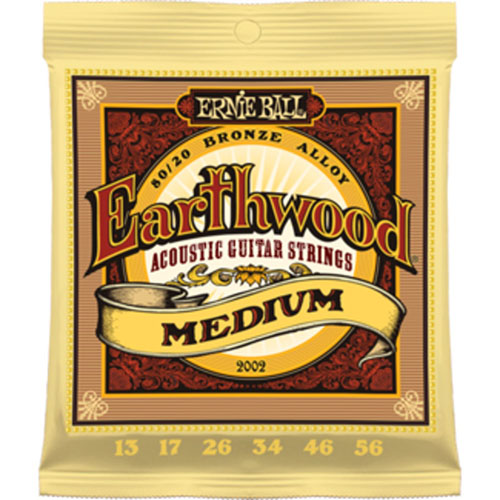 Ernie Ball 2002 Earthwood Medium Acoustic Guitar String