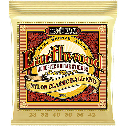 Ernie Ball 2069 Earthwood Folk Nylon