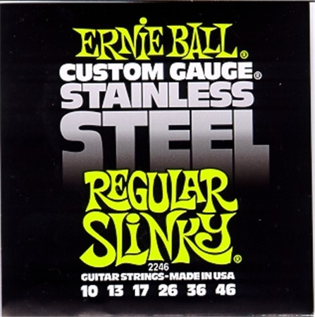 Ernie Ball 2246 Stainless Steel Regular Slinky