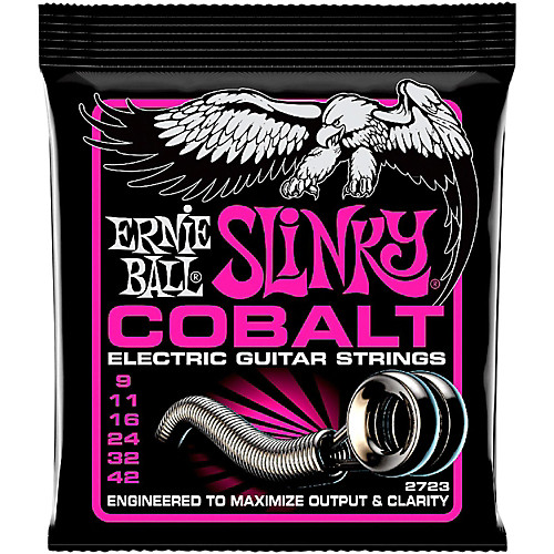 Ernie Ball 2723 Cobalt Super Slinky Elecric Guitar Strings