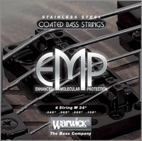 Warwick EMP Coated Bass Strings - Enhanced Molecular Protection - 4-string Set M