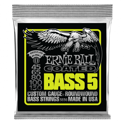 Ernie Ball 3836 Coated 5-String Bass