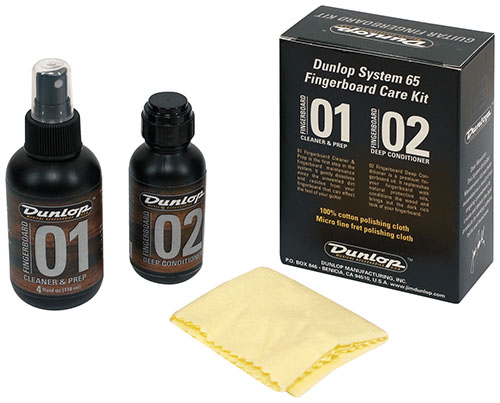 Dunlop 6502 Formula 65 Guitar Fingerboard Care Kit