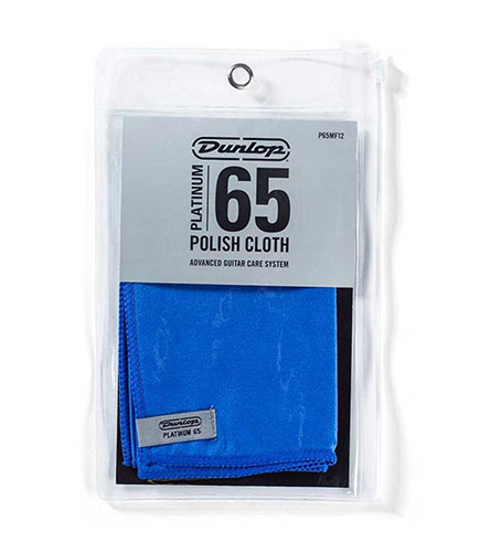 Dunlop P65MF12 Platinum 65 Polish Cloth