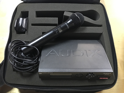 Audix RAD360 Handheld Wireless System w/ OM3