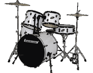 Ludwig Accent CS Combo Jazz Kit Black