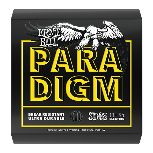 Ernie Ball 2027 Paradigm Electric Guitar String, Beefy Slinky