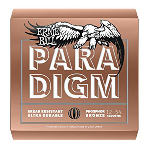 Ernie Ball 2076 Phosphor Bronze Paradigm Acoustic, Medium-Light