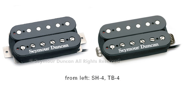 Seymour Duncan TB-4 JB Trembucker, Black