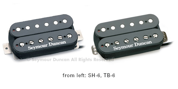 Seymour Duncan SH-6n Duncan Distortion Zebra