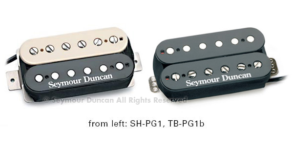 Seymour Duncan SH-PG1n Pearly Gates Neck, Black