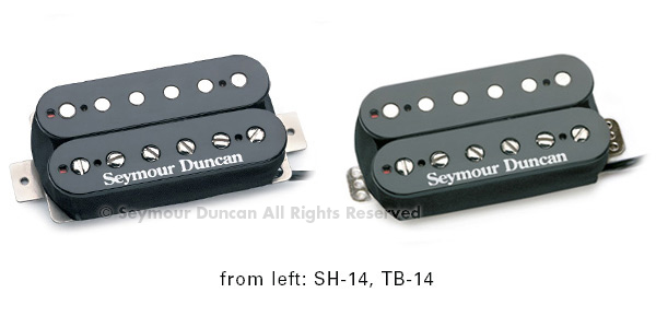 Seymour Duncan SH-14 Custom 5, black.