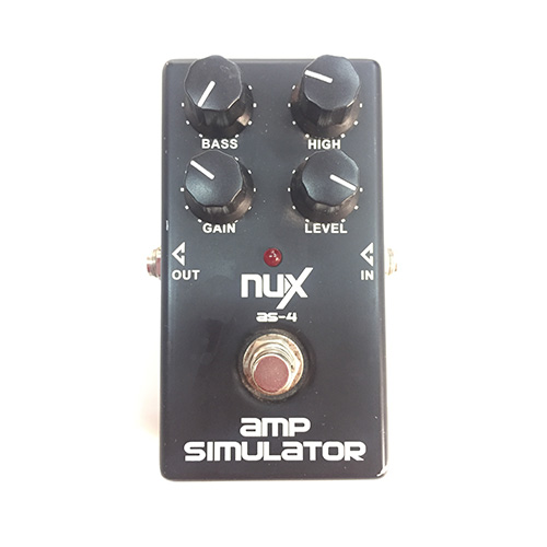 NUX AS-4 Distortion Pedal Guitar Effect Pedal Guitar Amplifier Simulator - PRE-LOVED