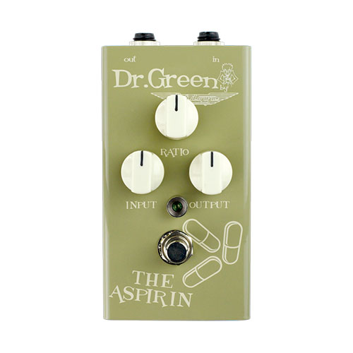 Dr. Green The Aspirin Compressor Bass Effects Pedal