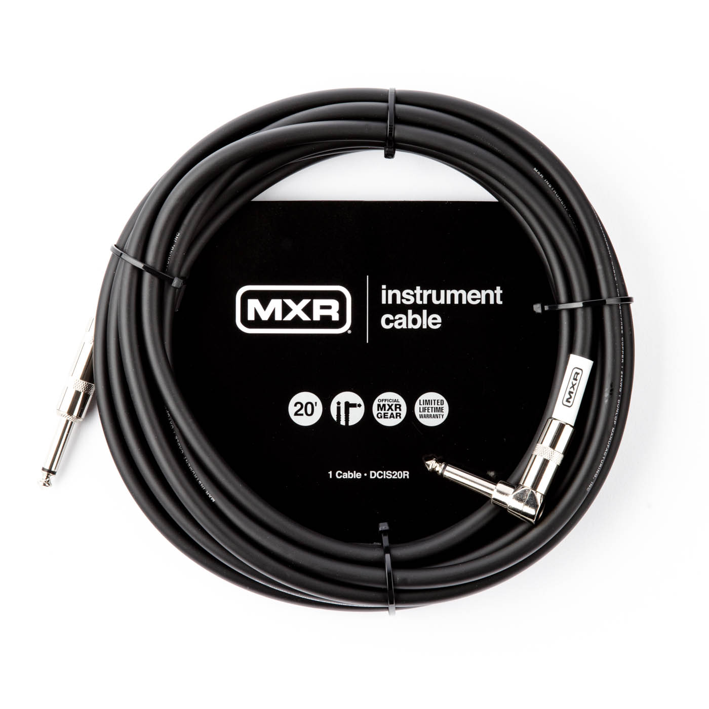 MXR DCIS20R Instrument Cable 20FT