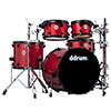 ddrum Journeyman Rambler 5-Piece Drum Kit